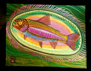Kimberley McCartney trout